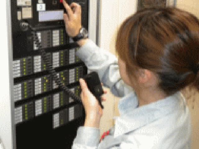 非常放送設備-非常放送鳴動試験