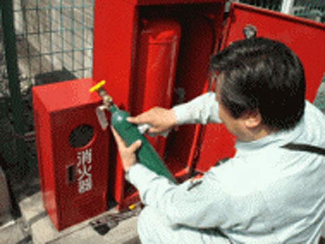 粉末消火設備-容器データ確認